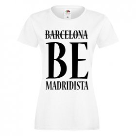 T-shirt Damski Real Madryt Be Madridista